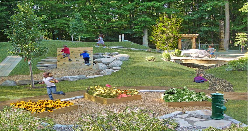 Natural Playgrounds for Kids